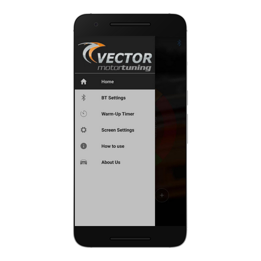 Vector Tuning Bluetooth Application for Chip Tuning Module