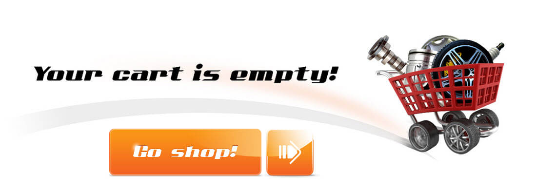 Your cart is empty. Go shop!